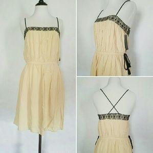 Zara Peasant Summer Dress